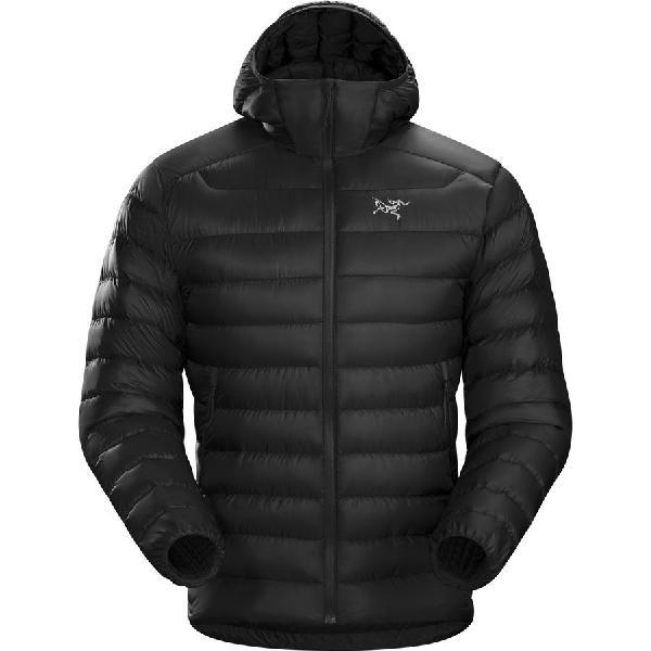 【クーポンで最大2000円OFF】(取寄)アークテリクス メンズ セリウム LT フーデッド ダウン ジャケット Arc'teryx Men's Cerium LT Hooded Down Jacket Black
