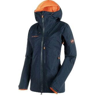 (취기) 맘트레디스노드원드프로 HS후 데드 쉘 재킷 Mammut Women Nordwand Pro HS Hooded Shell Jacket Night