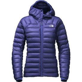 (取寄)ノースフェイス レディース サミット L3 ダウン フーデッド ジャケット The North Face Women Summit L3 Down Hooded Jacket Inauguration Blue