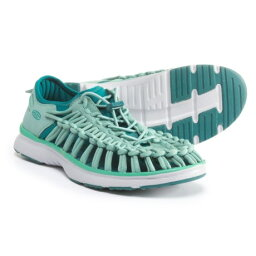 (索取)基恩女子的獨特的O二Closed-Back涼鞋KEEN Women Uneek O2 Closed-Back Sandals Malachite/Everglade