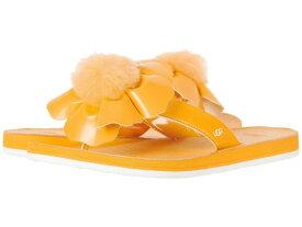 【クーポンで最大2000円OFF】(取寄)アグ トング サンダル レディース ポピー UGG Women Poppy Orange Zinnia