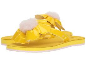 【クーポンで最大2000円OFF】(取寄)アグ トング サンダル レディース ポピー UGG Women Poppy Lemon Yellow
