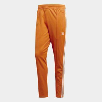 (索取)阿迪达斯原始物人BB运动裤adidas originals Men's BB Track Pants Bright Orange