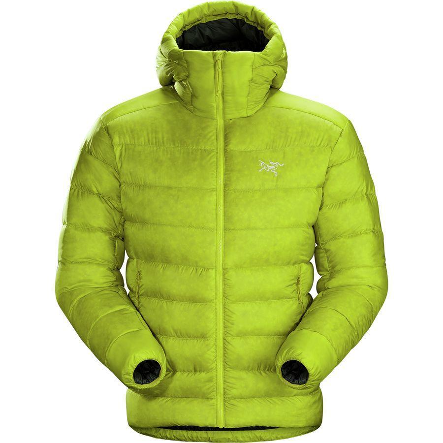 【クーポンで最大2000円OFF】(取寄)アークテリクス メンズ セリウム SV フーデッド ダウン ジャケット Arc'teryx Men's Cerium SV Hooded Down Jacket Lichen