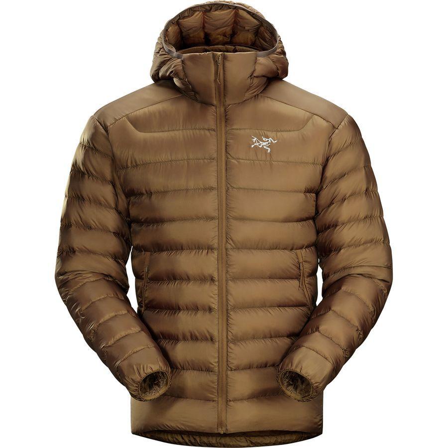 【クーポンで最大2000円OFF】(取寄)アークテリクス メンズ セリウム LT フーデッド ダウン ジャケット Arc'teryx Men's Cerium LT Hooded Down Jacket Caribou
