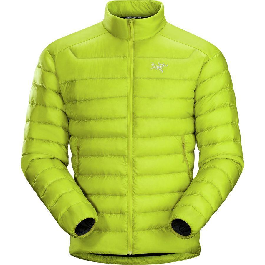 【クーポンで最大2000円OFF】(取寄)アークテリクス メンズ セリウム LT ダウン ジャケット Arc'teryx Men's Cerium LT Down Jacket Lichen