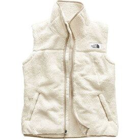 (取寄)ノースフェイス レディース Campshire フリース ベスト The North Face Women Campshire Fleece Vest Vintage White/Dune Beige