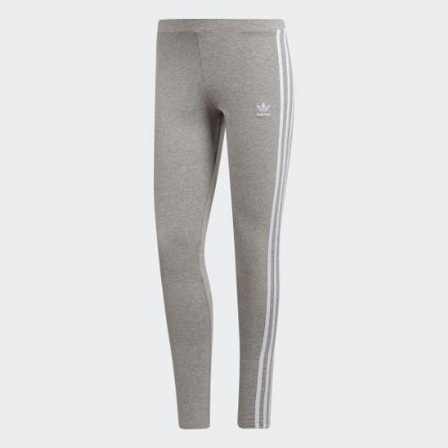 (取寄)アディダス オリジナルス レディース 3-ストライプス タイツ adidas originals Women 3-Stripes Tights Medium Grey Heather
