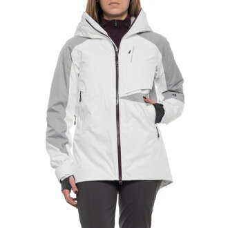 (order) マウンテンハードウェアレディースポラーラスキージャケット Mountain Hardwear Women Polara Ski Jacket White/Steam