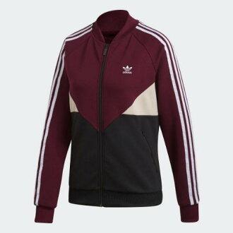 (취기) 아디다스오리지나르스레디스코로라드 SST 트럭 재킷 adidas originals Women CLRDO SST Track Jacket Maroon