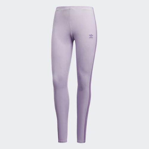 (取寄)アディダス オリジナルス レディース タイツ adidas originals Women Tights Purple Glow