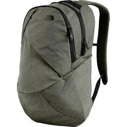 (索取)北臉女士伊莎貝拉21L背包The North Face Women Isabella 21L Backpack New Taupe Green Dark Heather/Tnf Black