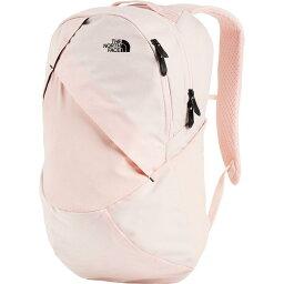 (索取)北臉女士伊莎貝拉21L背包The North Face Women Isabella 21L Backpack Pink Salt Light Heather/Tnf Black