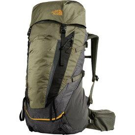(取寄)ノースフェイス テラ 55L バックパック The North Face Men's Terra 55L Backpack Tnf Dark Grey Heather/New Taupe Green