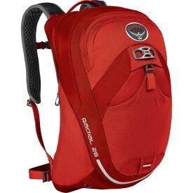 (取寄)オスプレー ユニセックス ラジアル 26L バックパック Osprey Packs Men's Radial 26L Backpack Lava Red