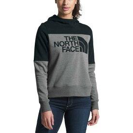 (取寄)ノースフェイス レディース ドリュー ピーク プルオーバー パーカー The North Face Women Drew Peak Hoodie Pullover Tnf Medium Grey Heather/Tnf Black