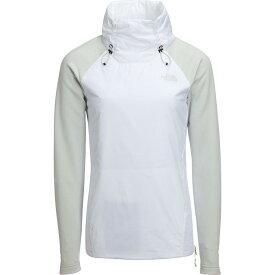 (取寄)ノースフェイス レディース キャニオンランズ インサレーテッド ハイブリッド プルオーバー The North Face Women Canyonlands Insulated Hybrid Pullover Tnf White/Tin Grey