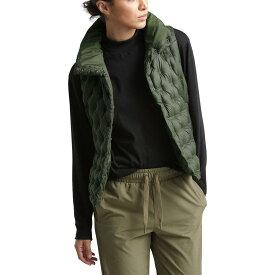 (取寄)ノースフェイス レディース ホラダウン クロップ ダウン ベスト The North Face Women Holladown Crop Down Vest New Taupe Green