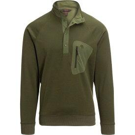 【エントリーでポイント5倍】(取寄)マウンテンハードウェア メンズ ノース ピーク 1/2-Zip フリース プルオーバー Mountain Hardwear Men's Norse Peak 1/2-Zip Fleece Pullover Dark Army