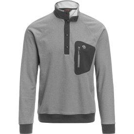 (取寄)マウンテンハードウェア メンズ ノース ピーク 1/2-Zip フリース プルオーバー Mountain Hardwear Men's Norse Peak 1/2-Zip Fleece Pullover Manta Grey