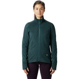 (取寄)マウンテンハードウェア レディース ノース ピーク フルジップ ジャケット Mountain Hardwear Women Norse Peak Full-Zip Jacket Blue Spruce
