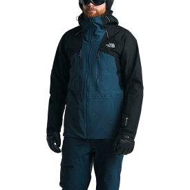 (取寄)ノースフェイス メンズ パウダーフロー ジャケット The North Face Men's Powderflo Jacket Blue Wing Teal/Tnf Black