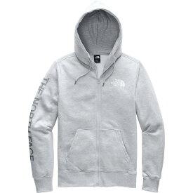 【クーポンで最大2000円OFF】(取寄)ノースフェイス メンズ ブランド プラウド フルジップ パーカー The North Face Men's Brand Proud Full-Zip Hoodie Tnf Light Grey Heather