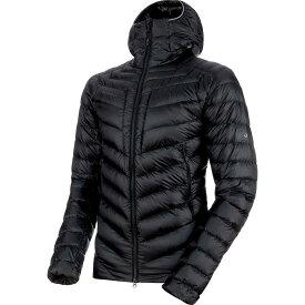 (取寄)マムート メンズ ブロード ピーク イン フーデッド ジャケット Mammut Men's Broad Peak IN Hooded Jacket Black/Phantom