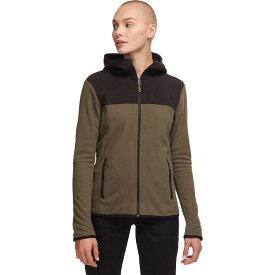 (取寄)ノースフェイス レディース TKA グレイシャー フルジップ フーデッド フリース ジャケット The North Face Women TKA Glacier Full-Zip Hooded Fleece Jacket New Taupe Green/Tnf Black
