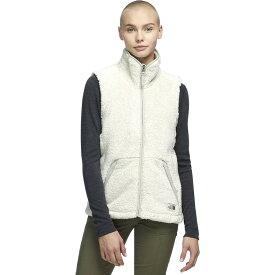 (取寄)ノースフェイス レディース Campshire 2.0フリース ベスト The North Face Women Campshire 2.0 Fleece Vest Vintage White/Dove Grey