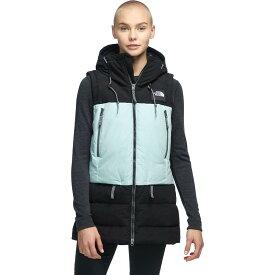(取寄)ノースフェイス レディース パリー ダウン ベスト The North Face Women Pallie Down Vest Tnf Black/Cloud Blue