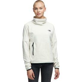 (取寄)ノースフェイス レディース TKA グレイシャー Funnel-Neck フリース プルオーバー The North Face Women TKA Glacier Funnel-Neck Fleece Pullover Vintage White/Vintage White