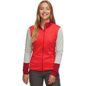 (取寄)マーモット レディース Thirona フリース ジャケット Marmot Women Thirona Fleece Jacket Scarlet Red/Sienna Red