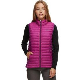 (取寄)マーモット レディース ソーラス フェザーレス ベスト Marmot Women Solus Featherless Vest Grape