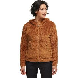 (取寄)ノースフェイス レディース ファーリー フリース フーデッド ジャケット The North Face Women Furry Fleece Hooded Jacket Cedar Brown