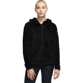 (取寄)ノースフェイス レディース ファーリー フリース フーデッド ジャケット The North Face Women Furry Fleece Hooded Jacket Tnf Black