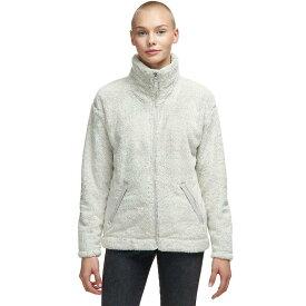 (取寄)ノースフェイス レディース ファーリー フリース 2.0 ジャケット The North Face Women Furry Fleece 2.0 Jacket Vintage White/Dove Grey