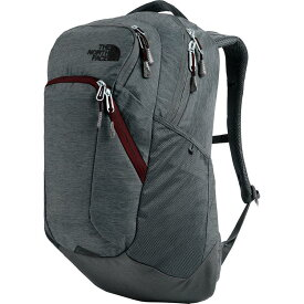 (取寄)ノースフェイス レディース ピボッター 29L バックパック The North Face Women Pivoter 29L Backpack Asphalt Grey Light Heather/Deep Garnet Red