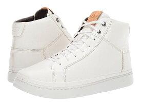 (取寄)UGG アグ メンズ カリ ハイカットスニーカー レザースニーカー ホワイト UGG Men's Cali Sneaker High White