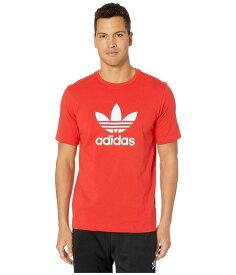 (取寄)アディダス オリジナルス メンズ トレフォイル Tシャツ adidas originals Men's adidas Originals Trefoil Tee Lush Red