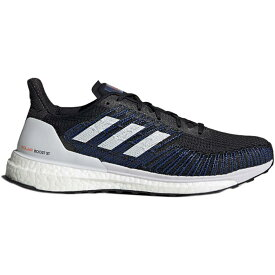 (取寄)アディダス メンズ ソーラー ブースト St 19 ランニング シューズ Adidas Men's Solar Boost ST 19 Running Shoe Running Shoes Core Black/Dash Grey/Solar Red