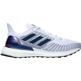 (取寄)アディダス レディース ソーラー ブースト St 19 ランニング シューズ Adidas Women Solar Boost ST 19 Running Shoe Running Shoes White/Silver Metallic/Solar Red