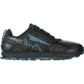 (取寄)アルトラ メンズ ローン ピーク 4ロウ RSM トレイル ランニング シューズ Altra Men's Lone Peak 4 Low RSM Trail Running Shoe Running Shoes Black/Blue