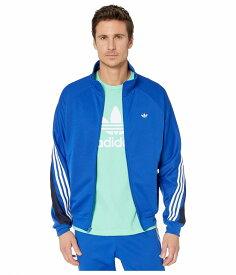 (取寄)アディダス オリジナルス メンズ 3-ストライプス ラップ トラック ラップ adidas originals Men's 3-Stripes Wrap Track Top Wrap Team Royal Blue/White