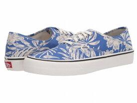 【クーポンで最大2000円OFF】(取寄)Vans(バンズ) スニーカー オーセンティック SF ユニセックス メンズ レディース Vans Unisex Authentic SF (Floral Linen) True Blue/Marshmallow