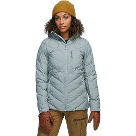 (取寄)ノースフェイス レディース コアファイア フーデッド ダウン ジャケット The North Face Women Corefire Hooded Down Jacket Mid Grey