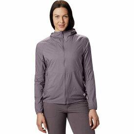 (取寄)マウンテンハードウェア レディース コア プレシェル フーデッド ジャケット Mountain Hardwear Women Kor Preshell Hooded Jacket Daze