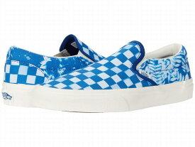 (取寄)Vans(バンズ) スニーカー クラシック スリップ-オン ユニセックス メンズ レディース Vans Unisex Classic Slip (Solar Floral) True Blue/Marshmallow