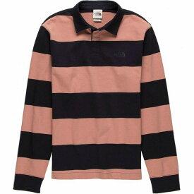 (取寄)ノースフェイス メンズ バークレー ラグビー シャツ The North Face Men's Berkeley Rugby Shirt Pink Clay/Aviator Navy