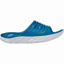 (取寄)ホカ オネオネ メンズ オラ リカバリー スライド 2 サンダル HOKA ONE ONE Men's Ora Recovery Slide 2 Sandal Blue Sapphire/Greenbriar
